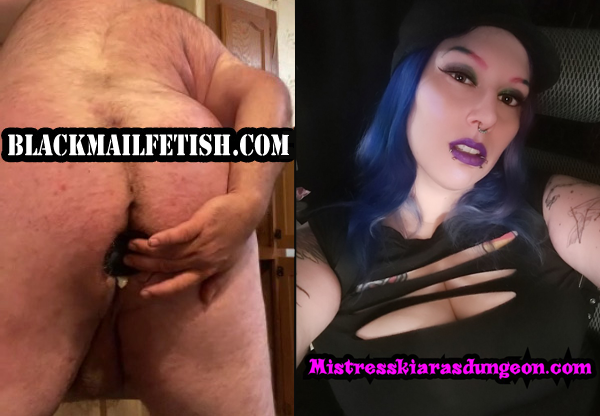 femdom blackmail fetish Mistress Domme slave ass fucking anal training