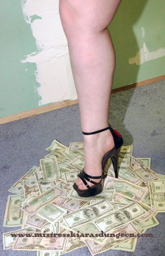 Financial domination princess