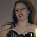 Femdom Punk Princess Mistress Kiara Corset