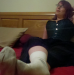 Femdom Mistress Foot Sock Stockings Fetish