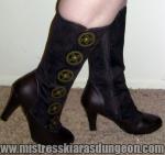 Femdom Mistress Foot Shoe Boot Fetish