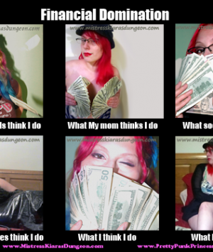 financial domination mistress financial domination princess