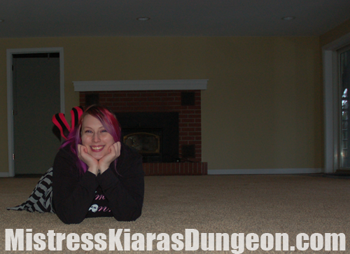 Financial Domination Mistress Kiara Femdom Fireplace