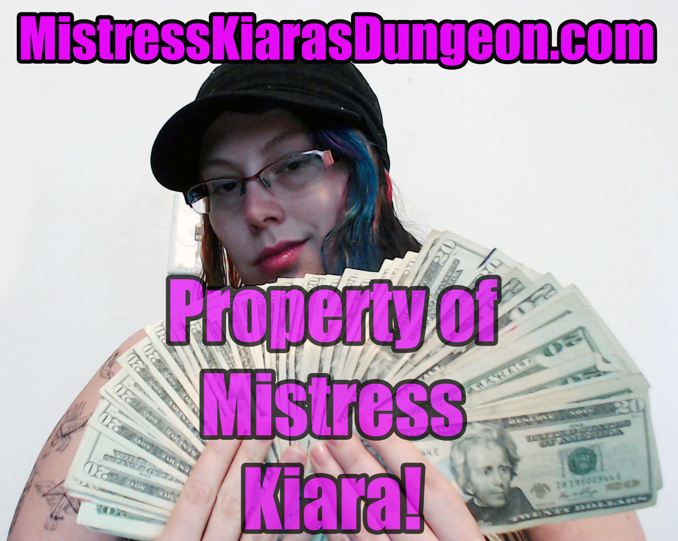 owned by findom mistress financial domination goddess kiara