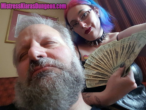financial domination Mistress Goddess Kiara fetish boxing