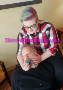 Trans Dom forced bi gay suck cock