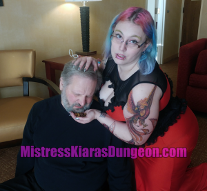 Mistress forced dog food eating humiliation
