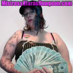 findom financial domination Mistress paypig pay pig tribute wallet rape