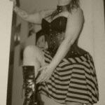 Mistress femdom brat humiliation shoe boot worship
